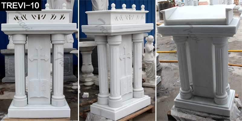 Marble Pulpit for Church from Factory Supply