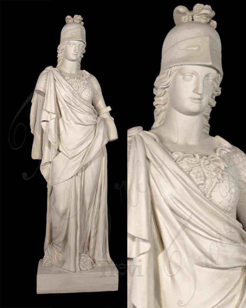 Antique Life size Athena Marble Statue for Garden Decoration MOKK-537