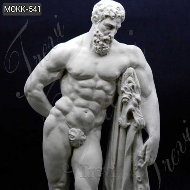 Famous Farnese Hercules Marble Sculpture Replica for Sale
