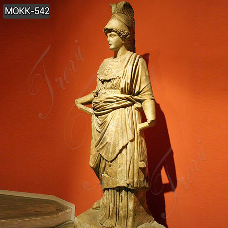 Famous The Goddess of Athena from Perge Marble Statue