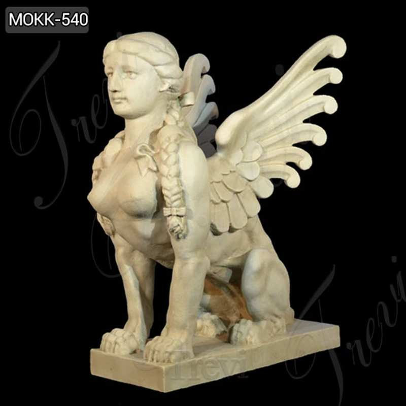 Handmade Famous Sphinx Marble Statue with Competitive Price MOKK-540