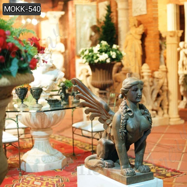 Handmade Famous Sphinx Marble Statue with Competitive Price