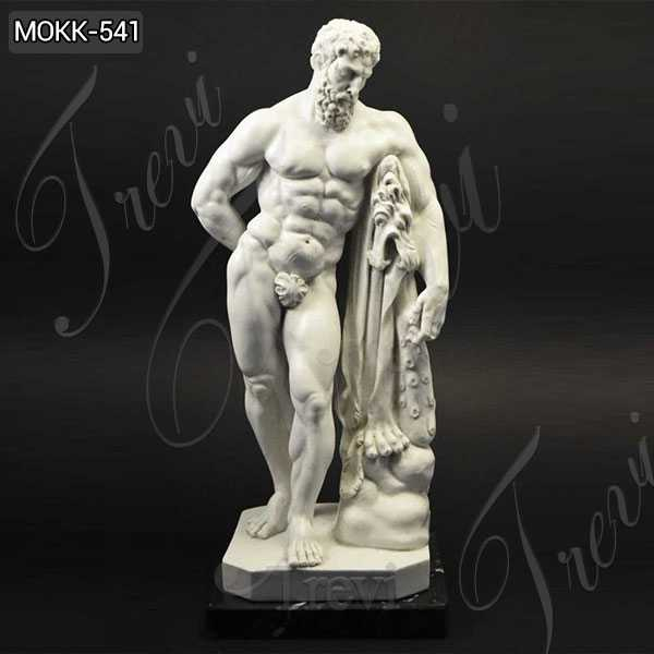 Life Size Famous Farnese Hercules Marble Sculpture Replica for Sale MOKK-541