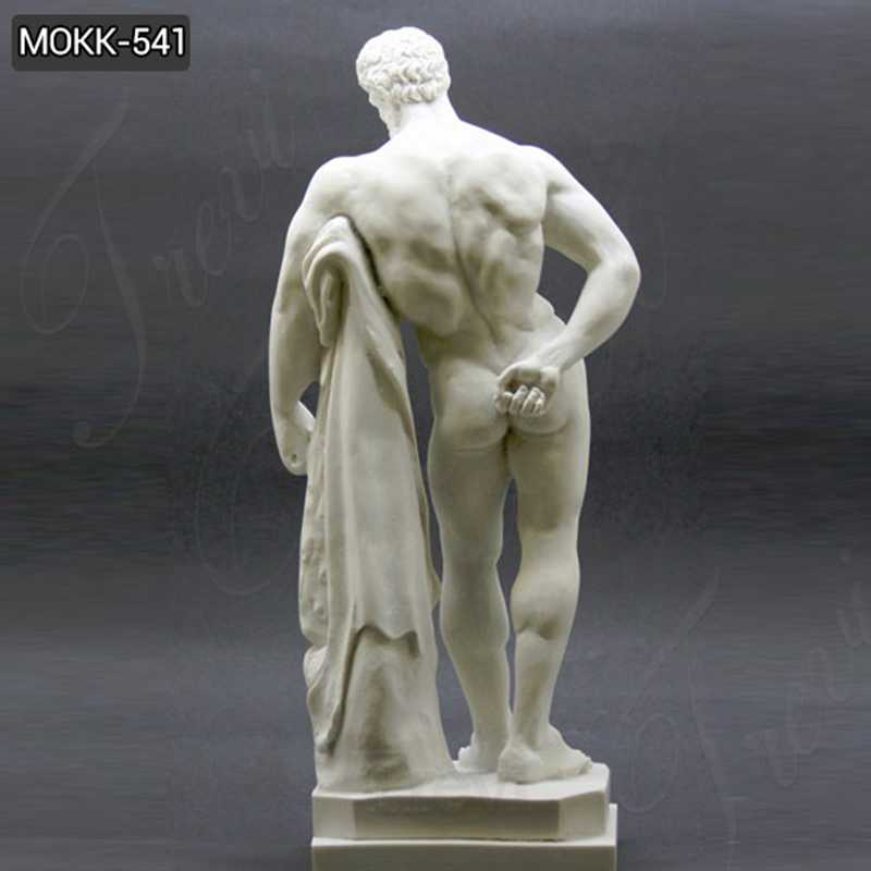 Life Size Famous Farnese Hercules Marble Sculpture for Sale
