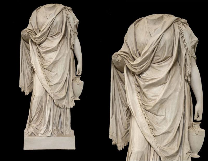 Venus Torso Life size Stone Statue Decorative Famous Sculpture