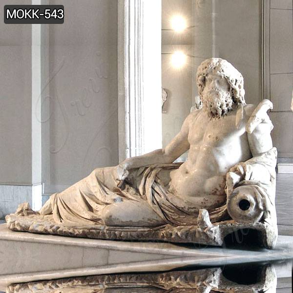 Marble Statue of Oceanus from Ephesus Replica for Sale