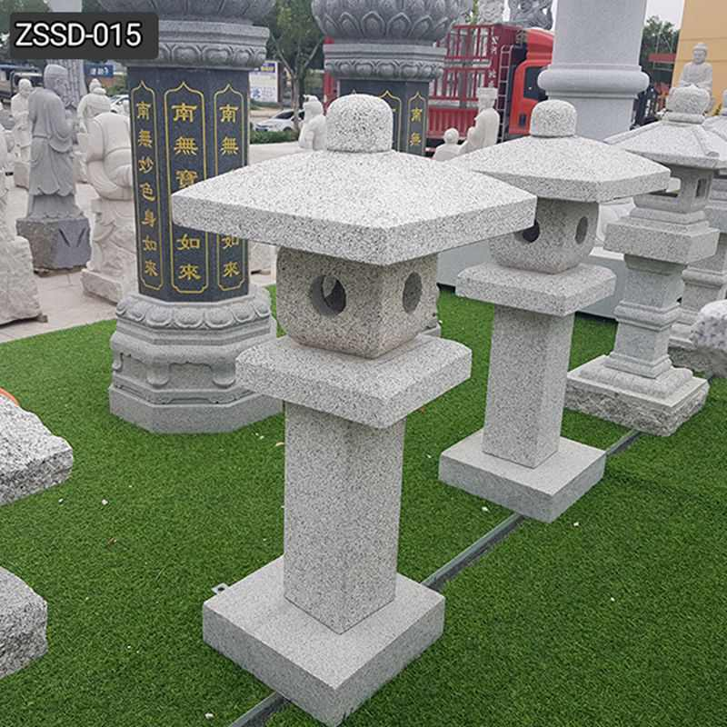 Custom Outdoor Japanese Stone Lamp for Sale