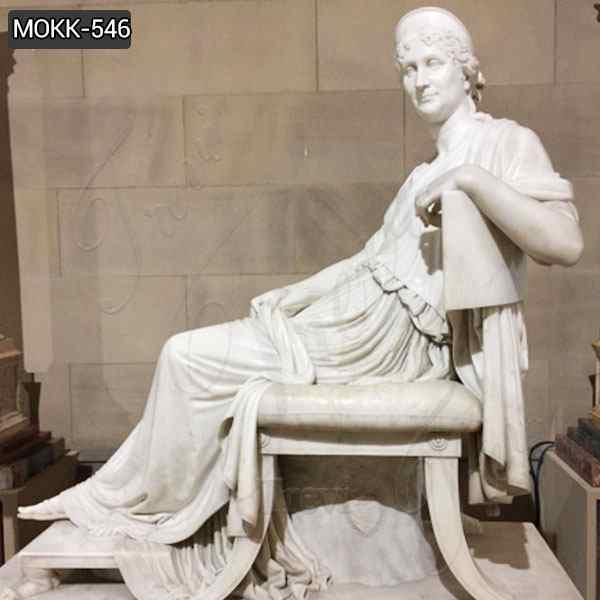 Famous Letizia Ramolino Bonaparte Marble Statue for Sale MOKK-546