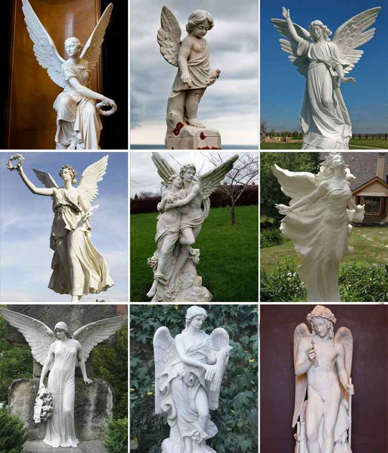 Famous marble statue for decor