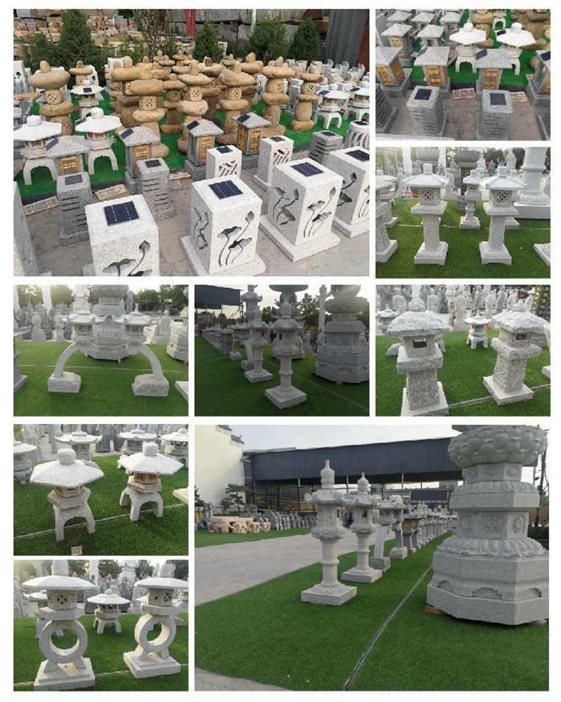 Granite Tower Lantern for Garden Manufacturer