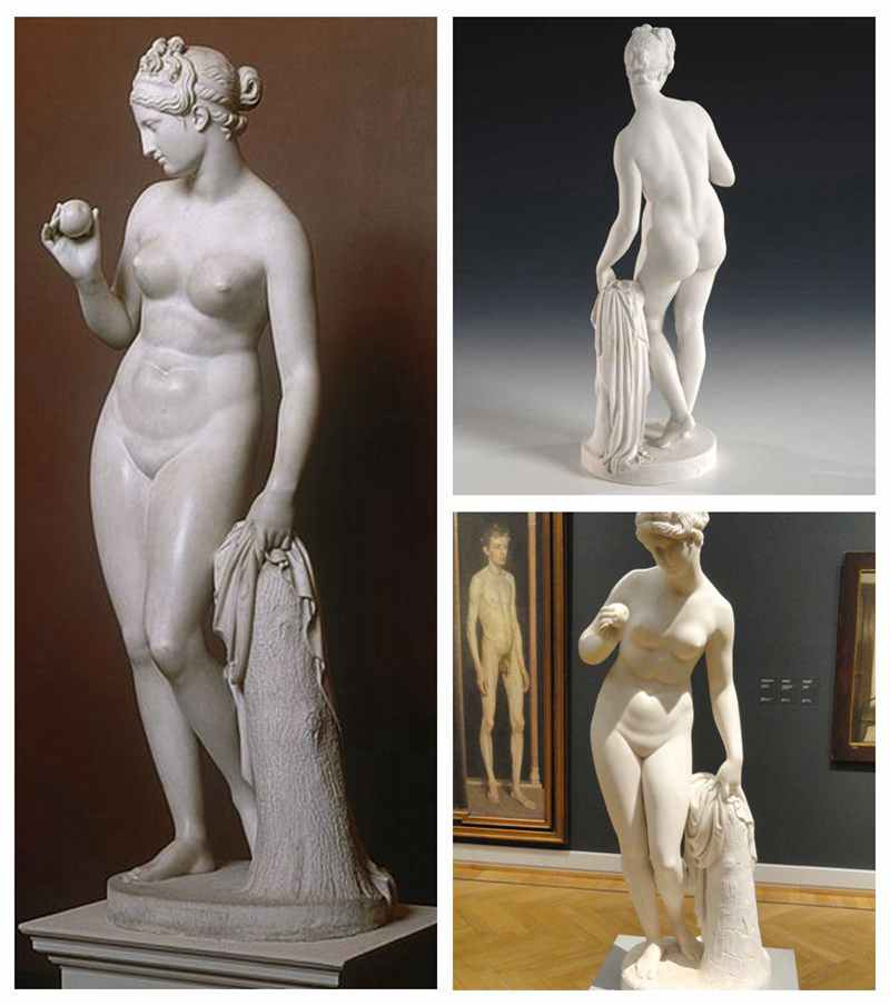 Marble Statue of Venus with an Apple by Bertel Thorvaldsen