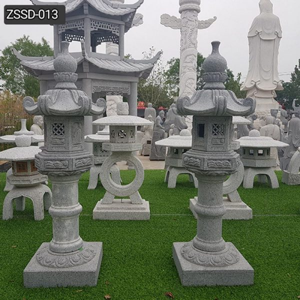 High Quality Outdoor Japanese Granite Garden Lamp Decor for Sale ZSSD-013