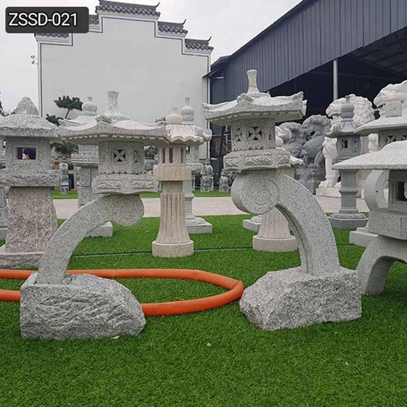 Outdoor Stone Lantern for Garden Decor Supplier