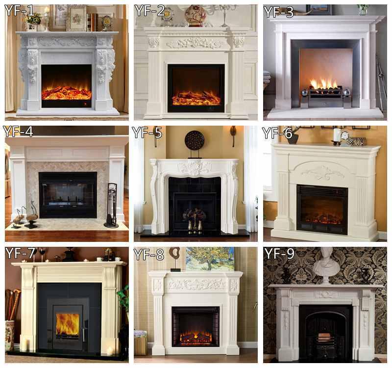 decorative fireplace surround