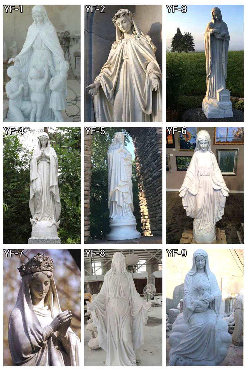 religious marble statue
