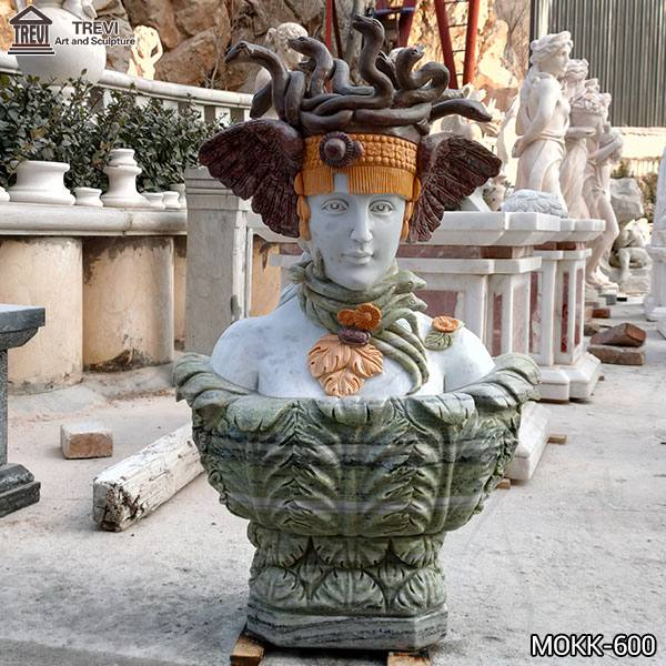 Hand of Medusa Marble Art Sculpture Supplier MOKK-600