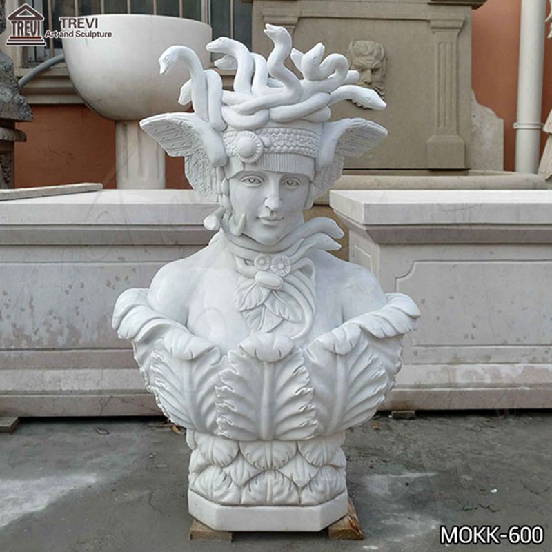 Hand of Medusa Marble Art Sculpture Supplier