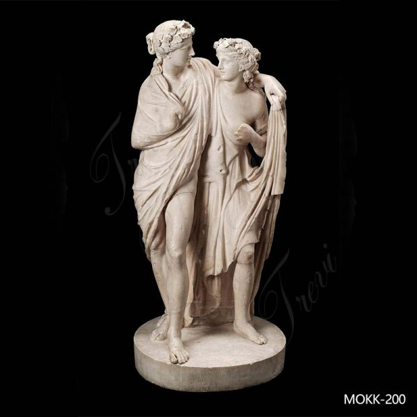 Famous Roman Dionysos and Maenad Marble Sculpture Replica MOKK-200