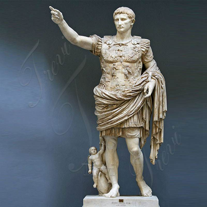 Julius Caesar Marble Sculpture for Sale