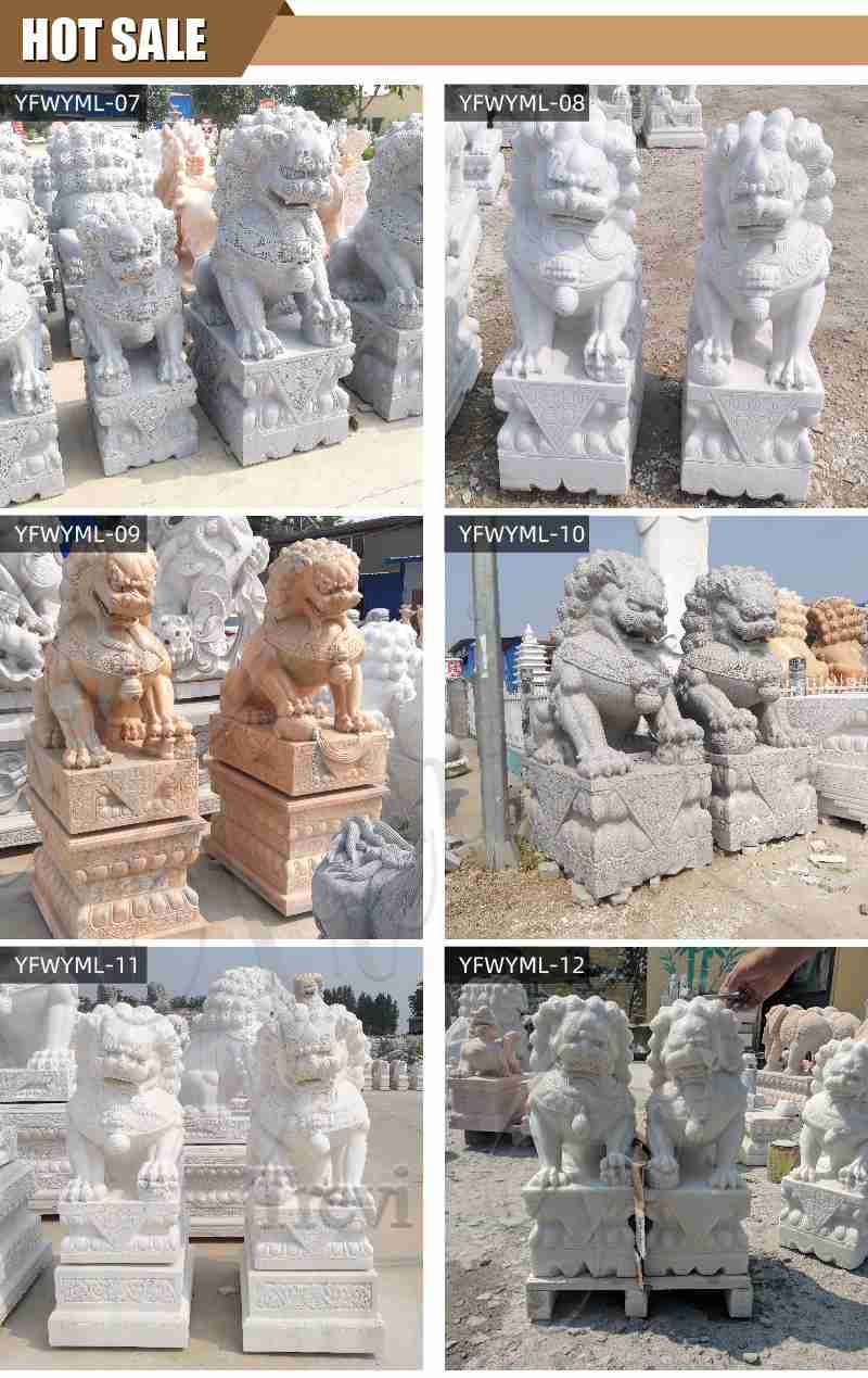 stone lion statue for sale