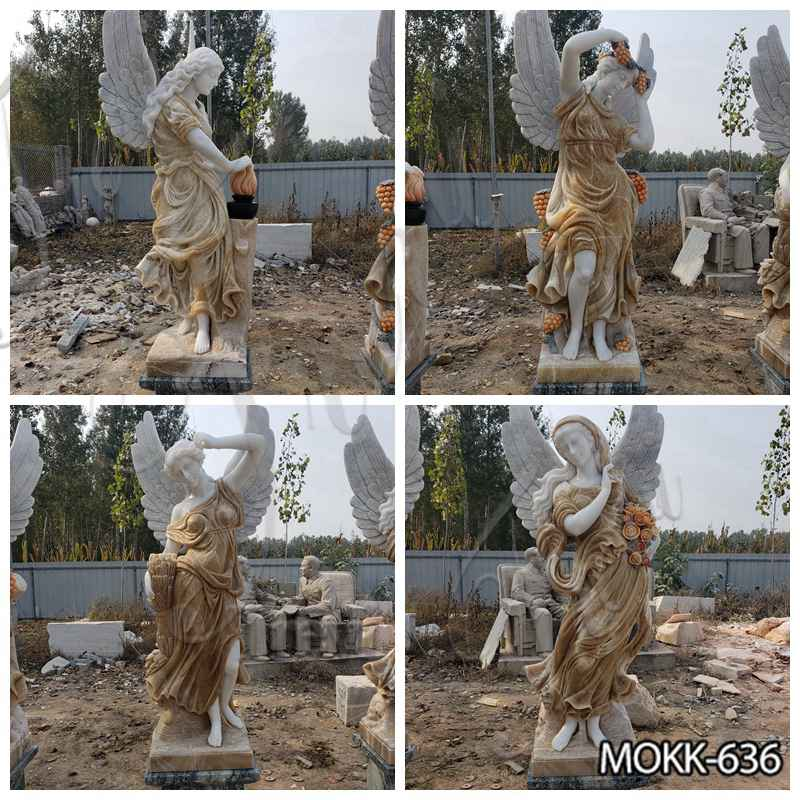 Garden Marble Winged Four Seasons Sta