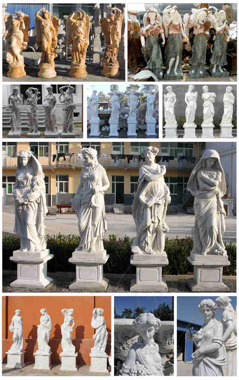 Goddesses of The Four Seasons Statue Collection