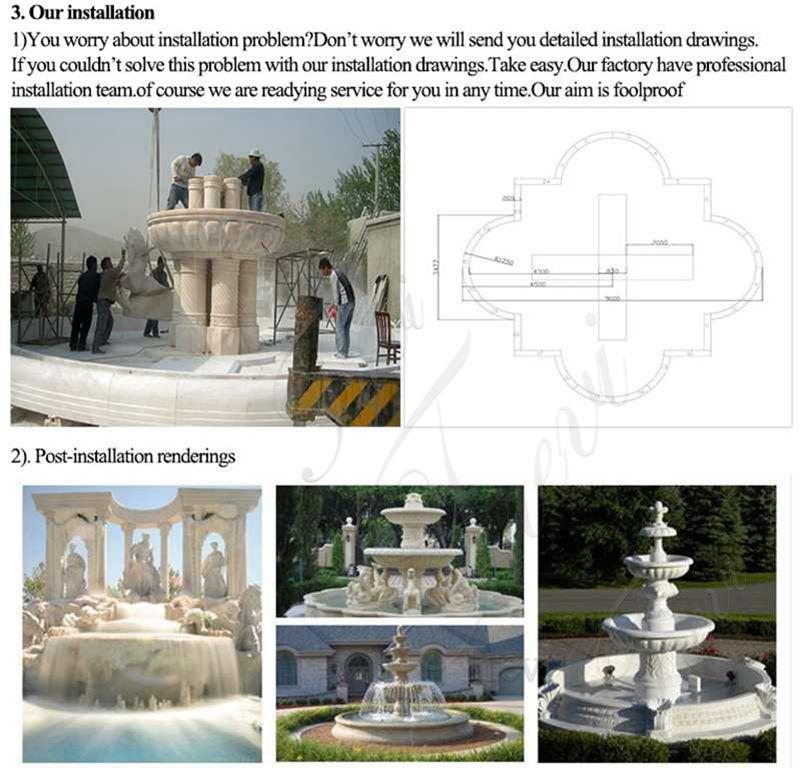 Granite Tiered Fountain Supplier