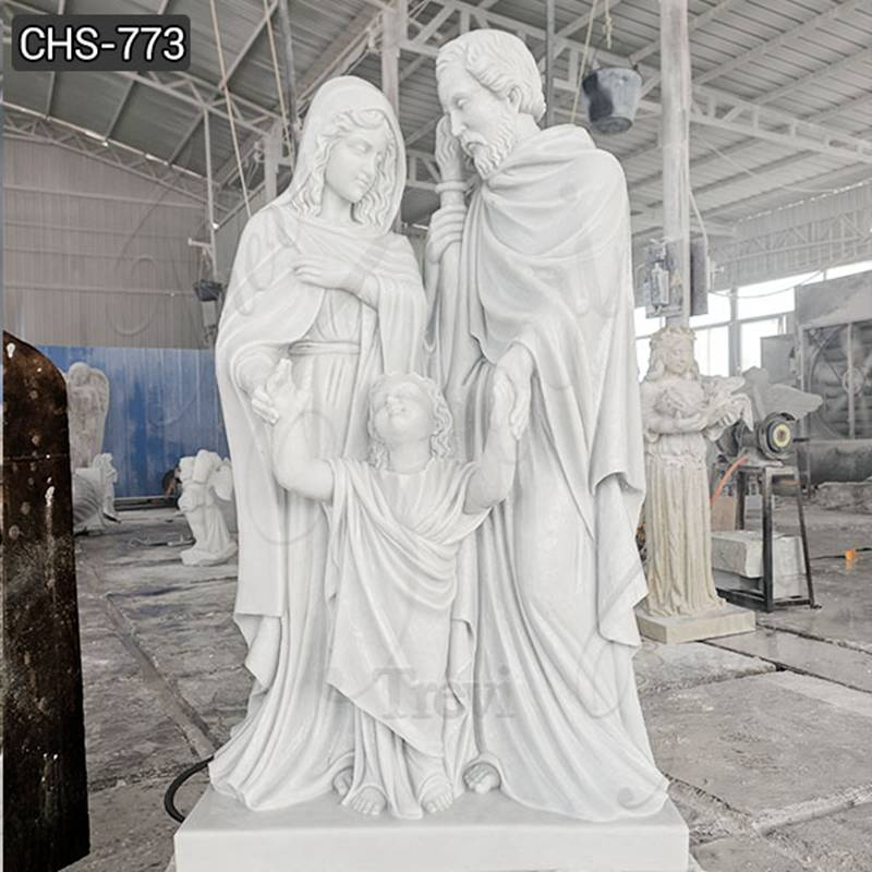 Church Life Size Holy Family Marble Statue Manufacturers