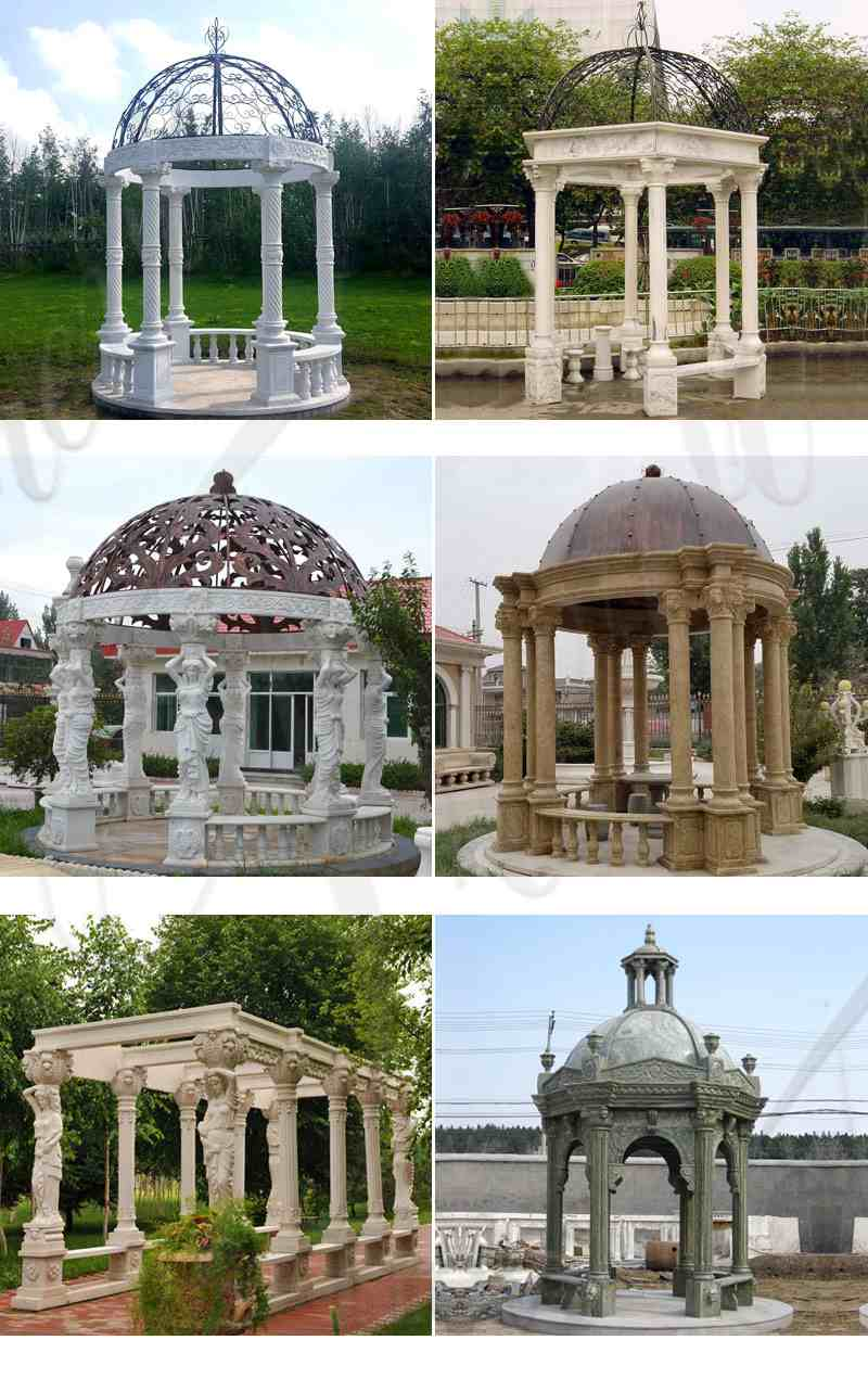 Customized Garden Decoration White Marble