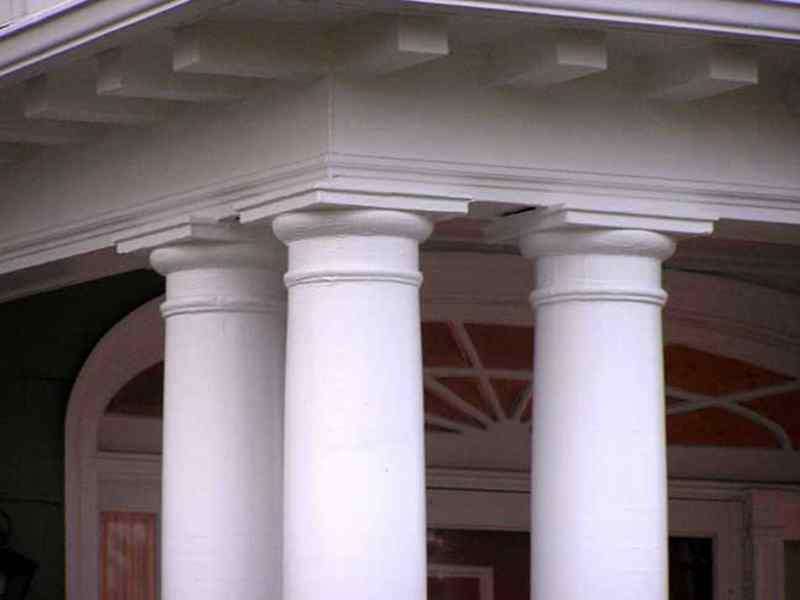 custom porch columns