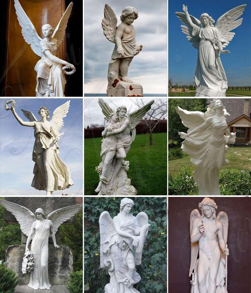 Outdoor famous art sculptures of Mercury riding Pegasus in Tuileries for