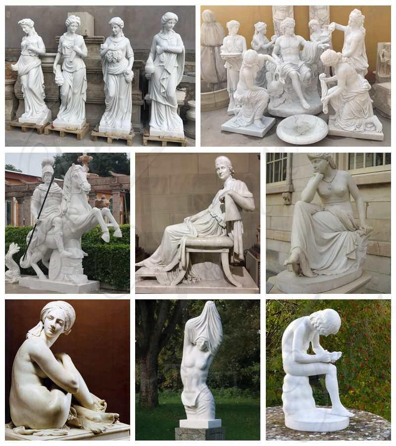 Thorvaldsen Museum Angel Marble Statue for Sale MOKK-213