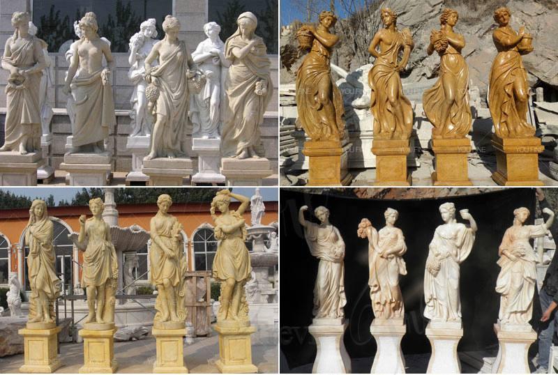 graceful-four-season-god-ladies-statue-sculpture