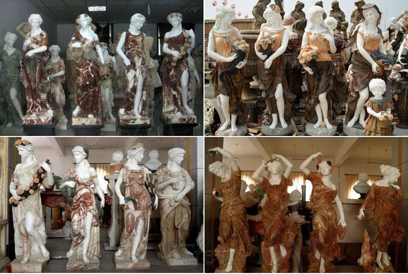 life-size-four-season-sculpture