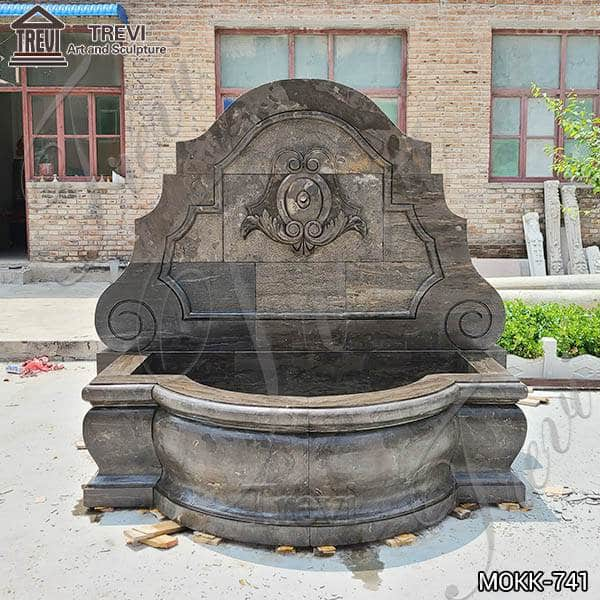 Natural Granite Outdoor China Marble Wall Fountain for Sale MOKK-741