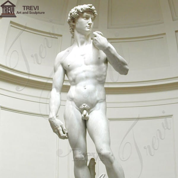 Famous David Marble Garden Statue Decoration for Sale MOKK-251
