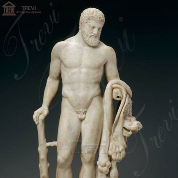 Life Size Outdoor Marble Hercules Statue for Sale MOKK-226