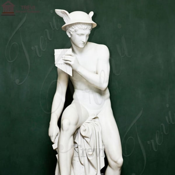 Life Size Marble Garden Statue Jupiter about to Kill Argus for Sale MOKK-236