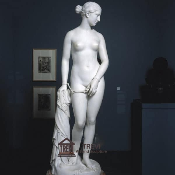 Famous Nude Marble Woman Statue The Greek Slave for sale MOKK-219