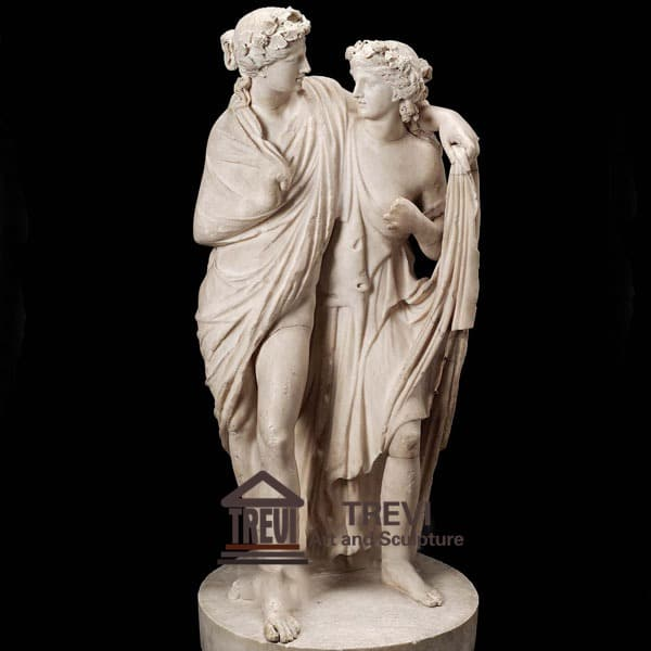 Life Size Dionysos Marble Garden Statue for Sale MOKK-200