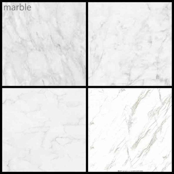 Difficult to choose! Marble or granite?