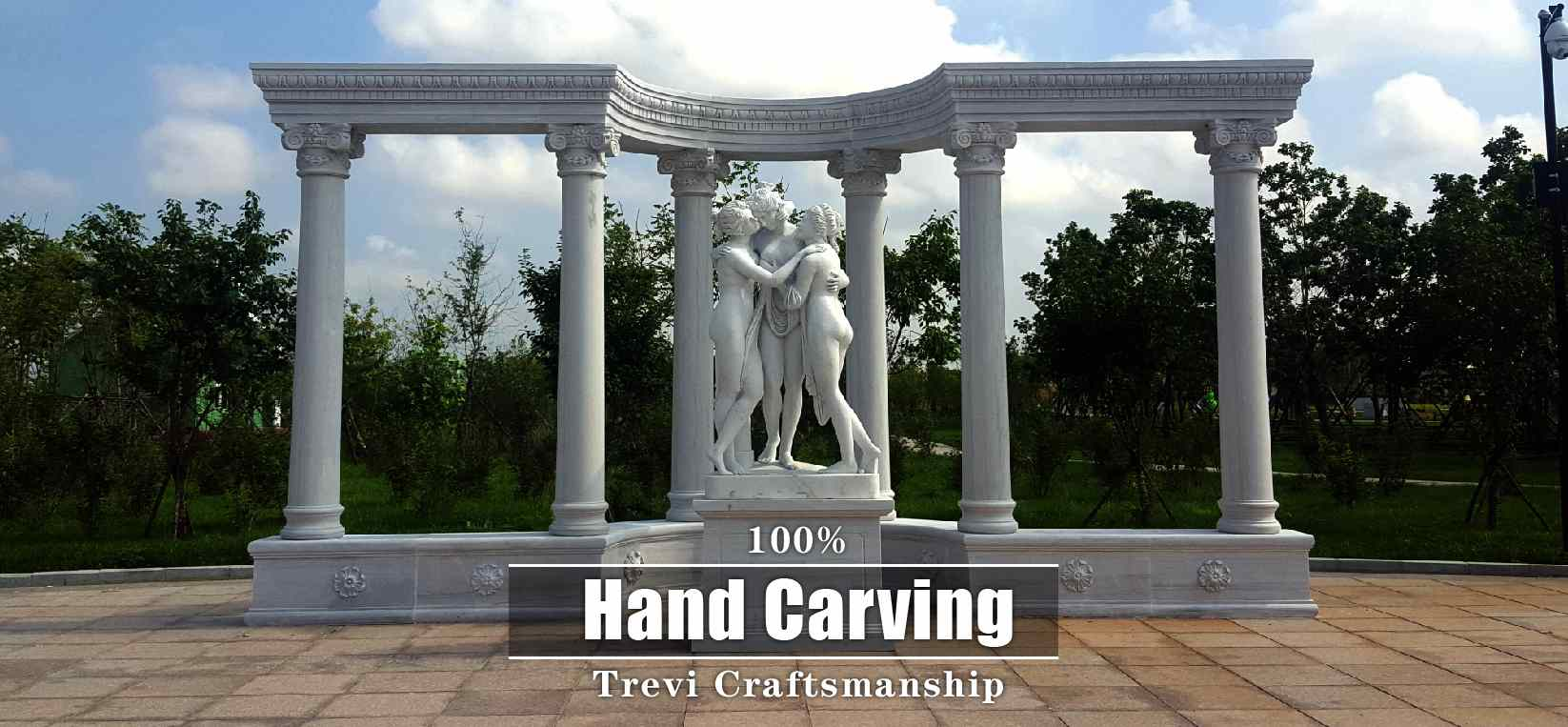 famous marble garden statue for sale