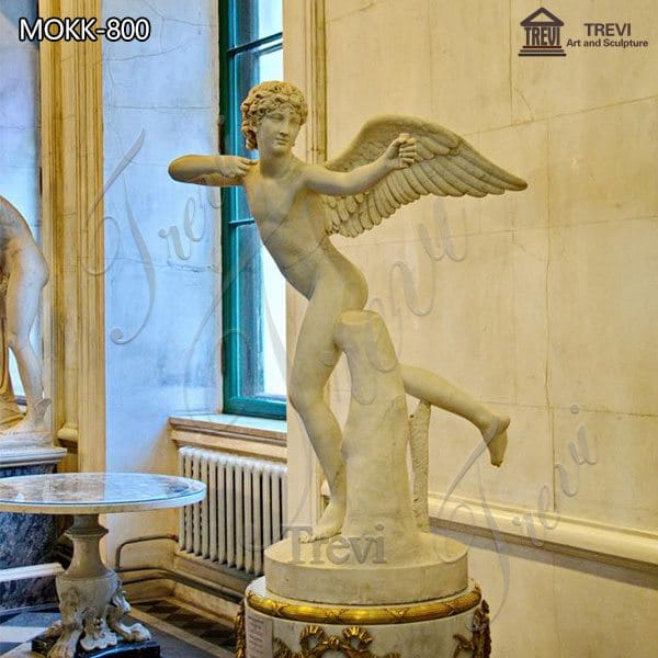 Life Size Marble Garden Statue Angel Cupid for Sale MOKK-800