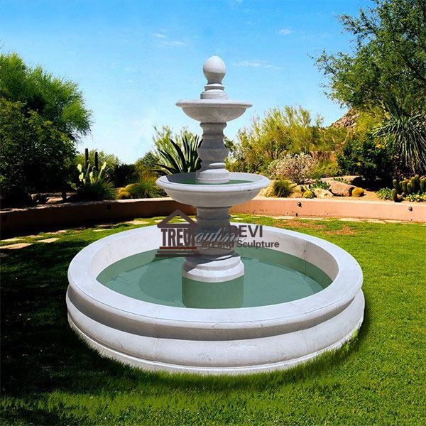 Garden Decoration Outdoor Marble Fountain for sale MOKK-826