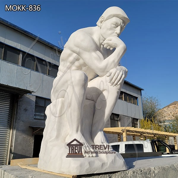 Custom David Marble Statue Garden Nude Statue for Sale MOKK-836