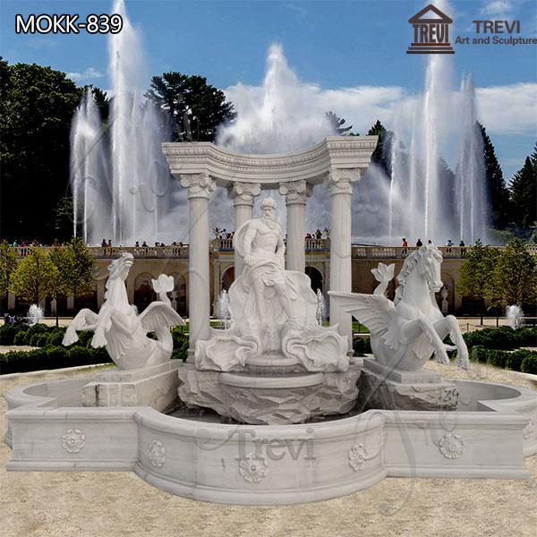 Outdoor Marble Trevi Fountain Custom Design for sale MOKK-839