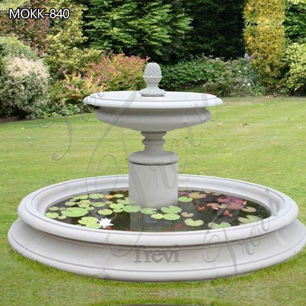 Small Size Outdoor Marble Fountain for sale MOKK-840