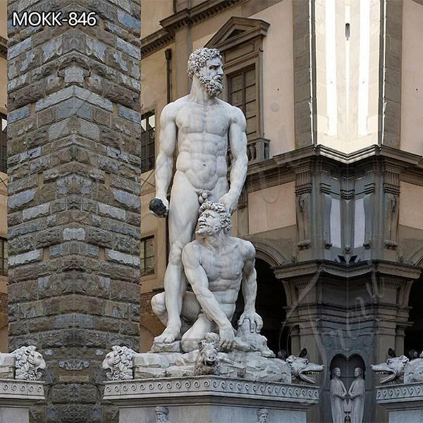 Custom Marble Garden Statue Hercules and Cacus for Sale MOKK-846