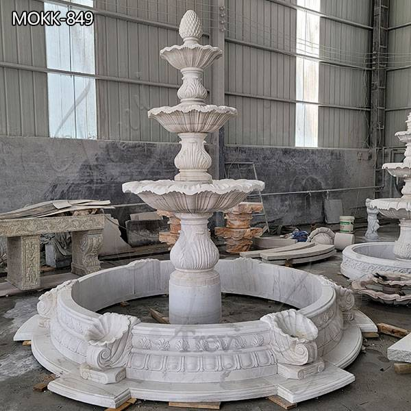 Outdoor Marble Water Fountain Factory Price MOKK-849