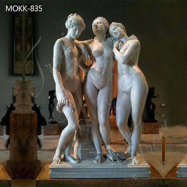 Classical Art Marble Three Graces Sculpture for Sale MOKK-835